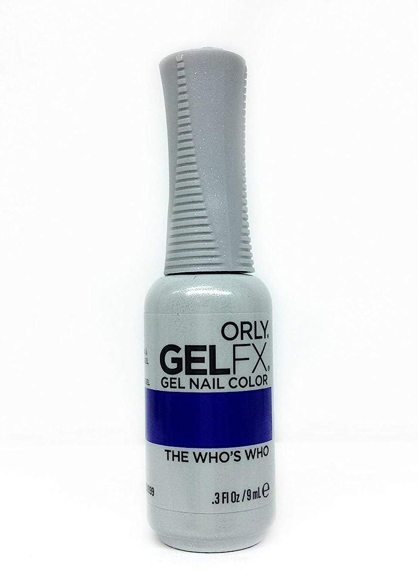 細いほぼ航海のOrly GelFX Gel Polish - The Who's Who - 0.3oz / 9ml