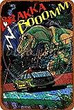 NOT Jurassic Park Cartel de Chapa de Metal Retro Arte Pintado decoración Placa de Advertencia Bar cafetería Garaje Fiesta Sala de Juegos Oficina en casa Restaurante Bar
