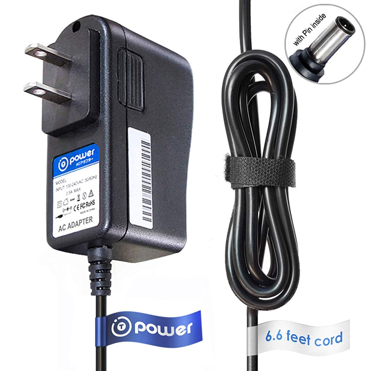 T-Power (6.6ft Long Cable) AC Adapter fit Compatible with Hp JetDirect 170x OfficeConnect j4102c AC DC Adapter POWER CHARGER SUPPLY CORD