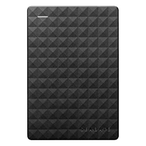 Seagate Expansion 1 TB External HDD - USB 3.0 for PC Laptop, 3 yr Data Recovery Services, Portable Hard Drive (STEA1000400)
