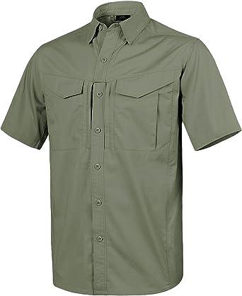 Helikon Hombre Defender Mk2 Manga Corta Camiseta Verde Oliva