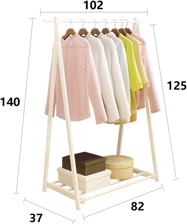 Qfgis Bedroom Landing Coat Racks Simple Modern Mobile Foldable Indoor Drying Racks Creative Hangers Furniture (color    1, Size   102cm)