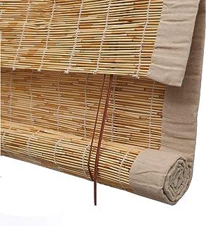 Interno//Esterno,Personalizzabili Protezione Solare Impermeabile Traspirante 50x60cm//20x24in NIANXINN Tende a Rullo in bamb/ù,Tapparella a Carrucola in Bamboo Tende Oscuranti per Uso Domestico