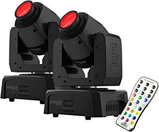 Chauvet Intimidator Spot 110 Lightweight LED Moving Head Light - pair with IRC-6 remote