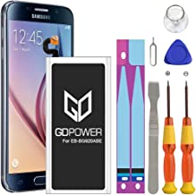 Galaxy S6 Battery, GDPower 2900mAh High Capacity 0 Cycle...