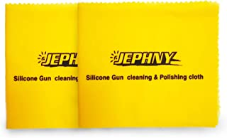 Jephny Silicone Gun Cleaning Polishing Cloth Size:12