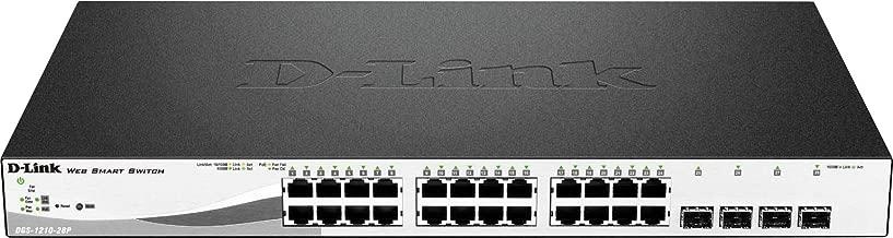 D-Link, DES-1210 Series Smart Managed 28-Port PoE Switch including 2 Gigabit Ports and 2 Gigabit/SFP Combo Ports