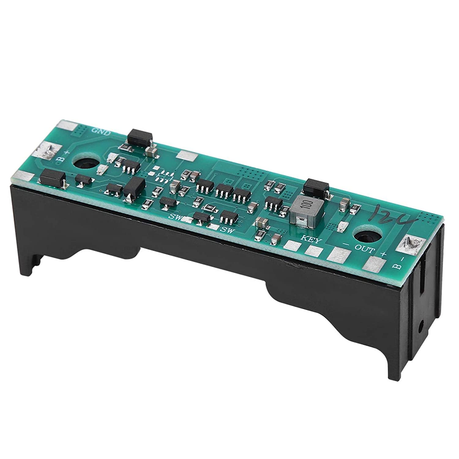 Board UPS, Battery Step Up Module 18650 Lithium Battery Charging with Multiple Protection Functions for UPS Power Supply for Industry for Raspberry Pi 4B 3B+ 3B
