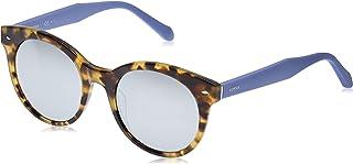 نظارات شمسية دائرية فوس 2055/s للنساء من فوسيل
