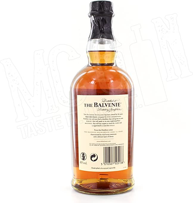 The Balvenie 12 Year Old DoubleWood 700mL