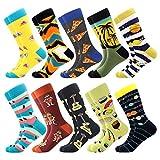 Coloridos Calcetines Para Hombres,Calcetines de Vestir Divertidos, Calcetines de Oficina...