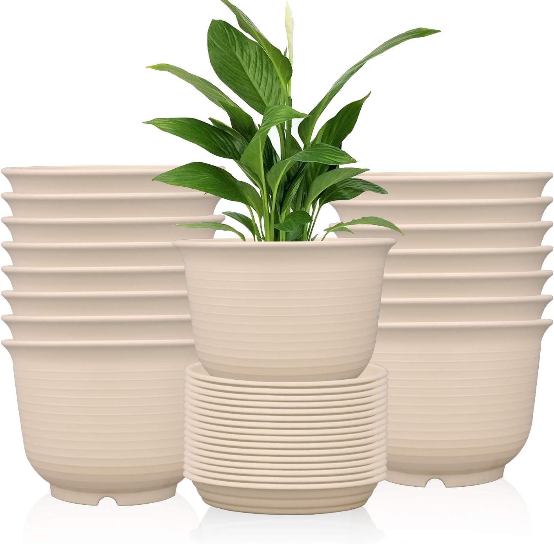 Ufrount Our shop OFFers the best service Plastic Planter Pot with Succulent Holes Plant Drainage shop