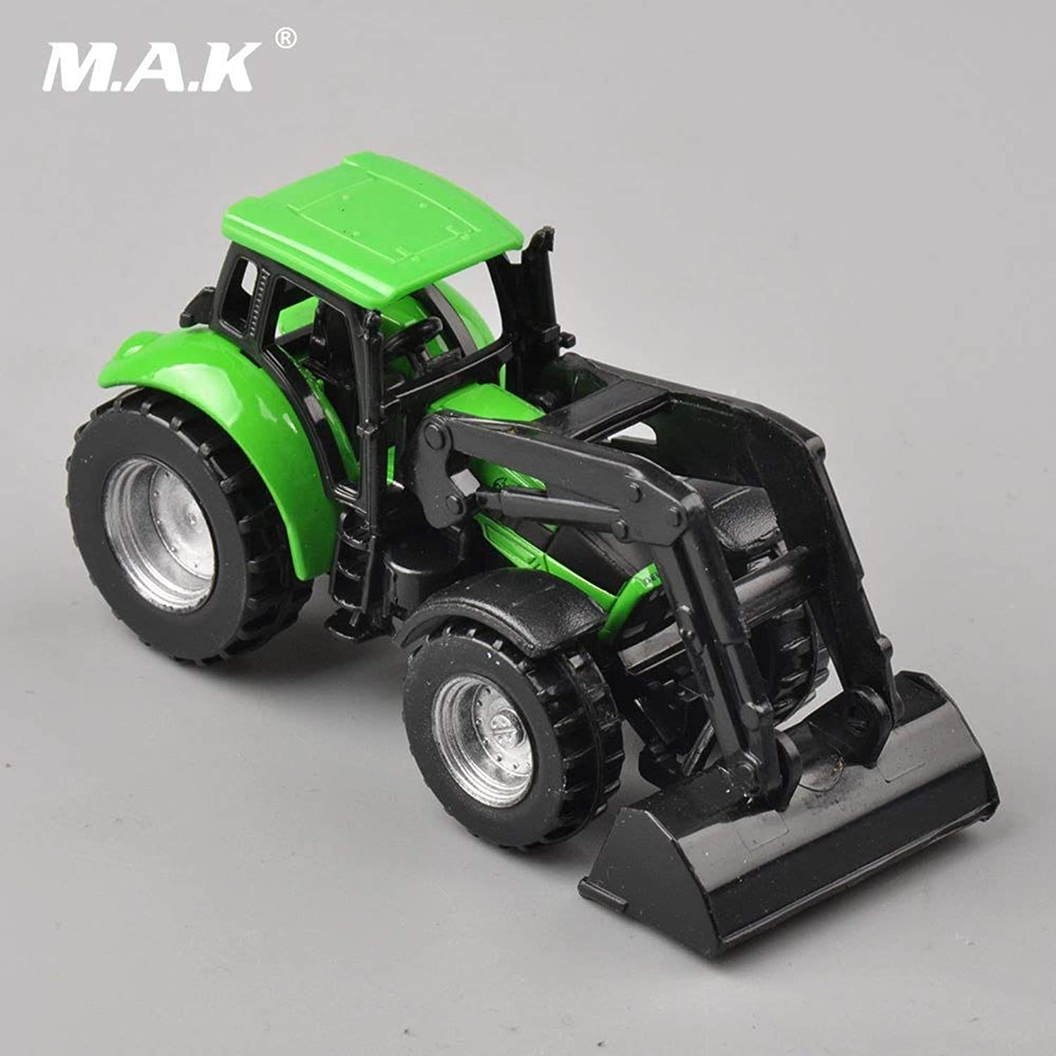 For Collection 1 87 Engineering Construction Trucks Vehicles DEUTZFAHR Mit Frontlader Tractor Front Loader Truck Car Model Toys