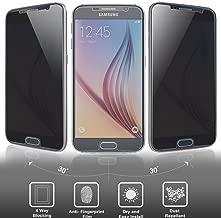 Josi Minea [ Samsung Galaxy S7 ] Privacy Tempered Glass LCD Anti-Spy Screen Protector Film Screen Guard Premium HD Cover Shield for Samsung Galaxy S7 / SVII