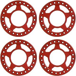 RCLIONS Aluminum RC Beadlock Wheel Rim Replacement Ring for 1:10 Crawler RC Car 1.9