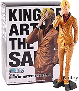 Anime One Piece King Artist The Sanji Doll Sanji Vinsmoke PVC Action Collectible Model Toy Model YellowWithbox