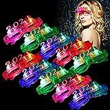 Bageek Gafas 2021 Nochevieja,Gafas de Led Fiestas10 PCS Pares de Gafas Fiestas LED Fiesta ...