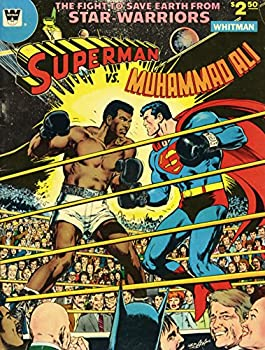 Superman vs Muhammad Ali Poster 24x36 Comic Premium Quality