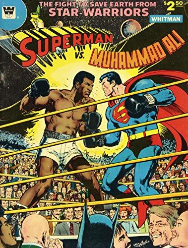 Superman vs. Muhammad Ali Poster 24x36 Comic Premium Quality