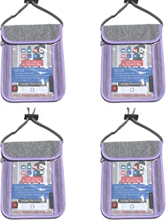 Cabana Sports Passport Holder (Lavender 4 Pack)