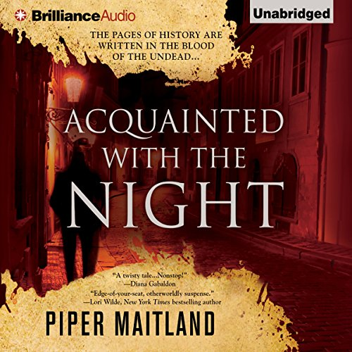 Acquainted with the Night audiobook cover art