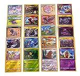 Pokemon - 20 verschiedene Pokemon Reverse-Holo Karten - Deutsch