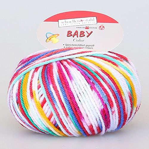 Baby Merino Color Wolle Schoeller Stahl