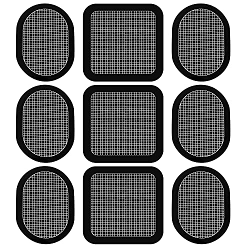 Replacement Gel Pads for All Abdominal Belts Pro Go System 3 Sets of 9,Toning Pads