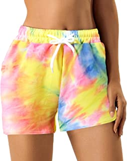Women's Athletic Casual Shorts for Summer Workout Running...