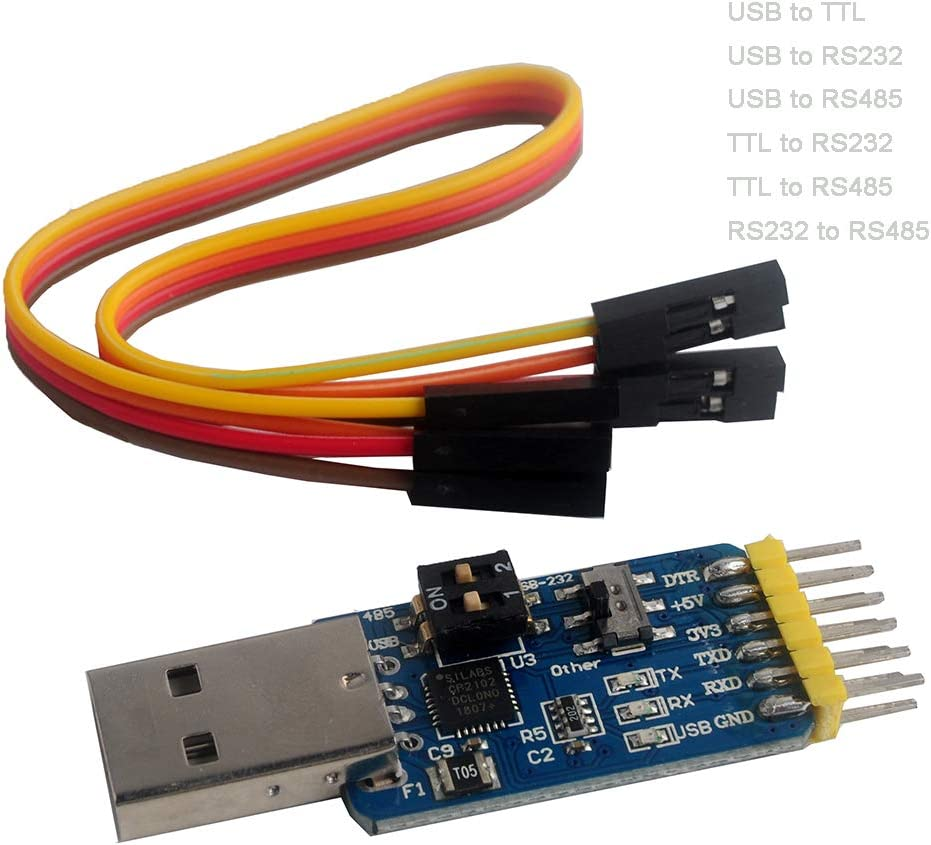 CP2102 Bargain sale USB to TTL Adapter RS485 Serial OFFicial shop 232 Module