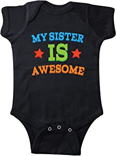 inktastic My Sister is Awesome Infant Creeper