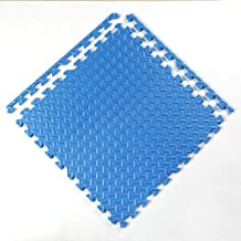 WX&QIANG Interlocking Soft Foam Exercise Floor Play Mats,Foam Interlocking Tiles,Floor Protector, Surface Protection,Under...
