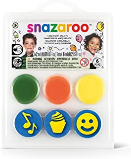 Snazaroo Stamp Face Painting Kit for Birthday