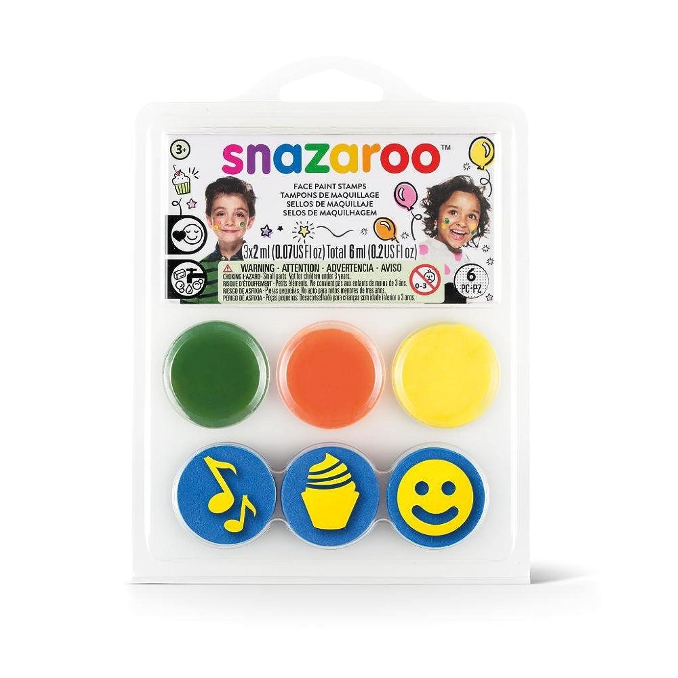 Snazaroo Birthday Party Face Paint Stamp Kit ymiimt3391