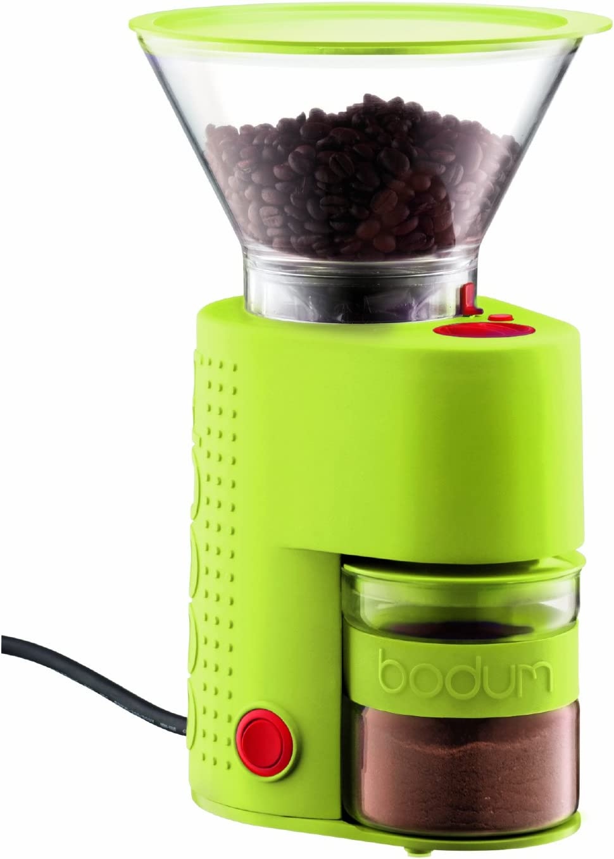 Bodum Bistro Award Electric Burr Coffee Max 53% OFF Green Grinder