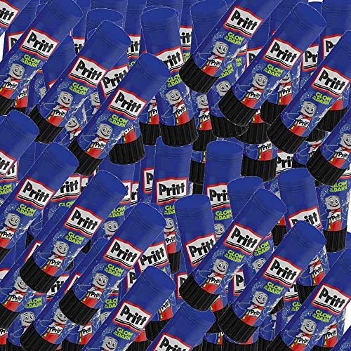 10 x Prittstifte 20g Pritt Klebestick 20g unsortiert glow in the dark oder andere farbige Prittstifte. Lösemittelfrei, Bastelkleber