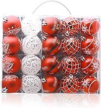20 Piece Set Christmas Ball Christmas Ball Pendant Christmas Tree Pendant Red White