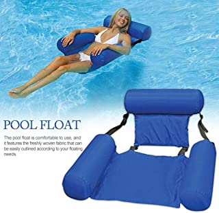 Water Hammock, Pool Lounger Float Hammock Inflatable Rafts Swimming Pool Air Sofa Floating Chair Bed Drifter Swimming Pool...