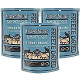 Northwest Naturals Pack of 3 Turkey Freeze Dried Raw...