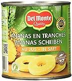 Del Monte Ananas Scheiben in Saft , 4er Pack (4 x 435 g Dose)