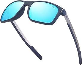 Bevi Polarized Sports Sunglasses Square Glasses for Men Women Running Cycling Fishing Golf Baseball