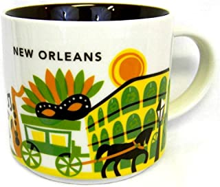 Starbucks New Orleans Ceramic Coffee Mug You Are Here Series Cup