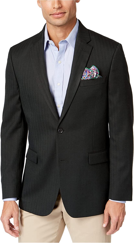 Tommy Hilfiger Mens Th Flex Two Button Blazer Jacket