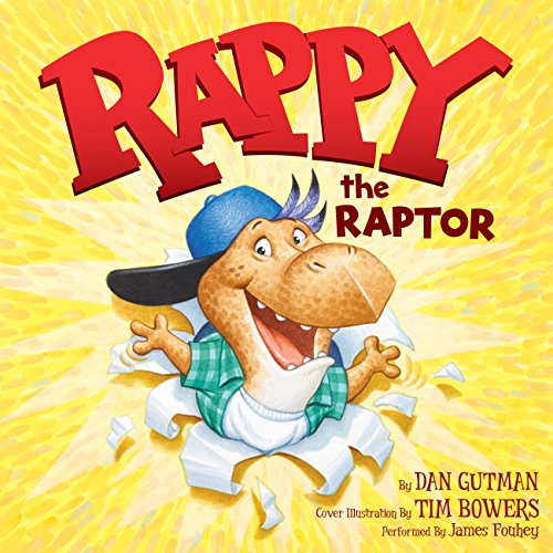 Rappy the Raptor audiobook cover art