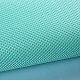 QDTD Netzstoff Air Mesh 160 cm Breit Leichte Polyester