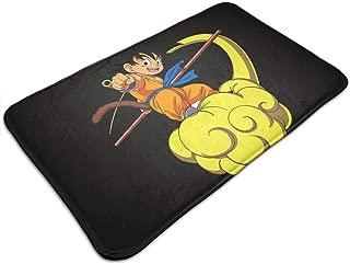 YOHHOY Dragon Ball Z Goku Doormat Entrance Mat Floor Mat Rug Indoor/Bathroom Mats Rubber Non Slip Perfect for Door Mat (20