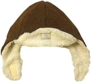 Pickapooh Hat 100% Merino Wool Boiled Plush Baby Boy Girl Children Organic Cotton Winter Earflap Fynn