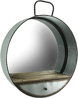 shabby chic wooden mirror