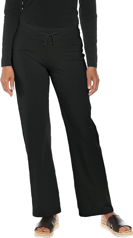 Coolibar UPF 50+ Women's Beach Pants  Sun Predective (Medium Deep Black)