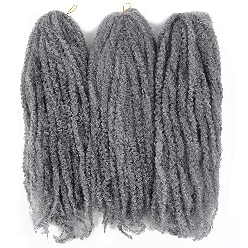 Silver marley hair
